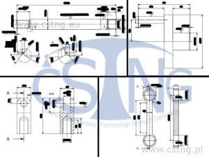 dokumentacja techniczna rysunek techniczny silnik pneumatyczny cstng
