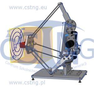 projektowanie techniczne cad robot haptyczny delta cstng