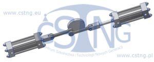 projektowanie techniczne cad silnik pneumatyczny cstng