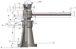podstawy konstrukcji maszyn podnośnik śrubowy pkm